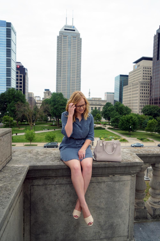 Maggie a la Mode - Best Shirt Dress 2.JPG