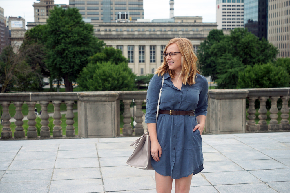 Maggie a la Mode - Best Shirt Dress 6.JPG