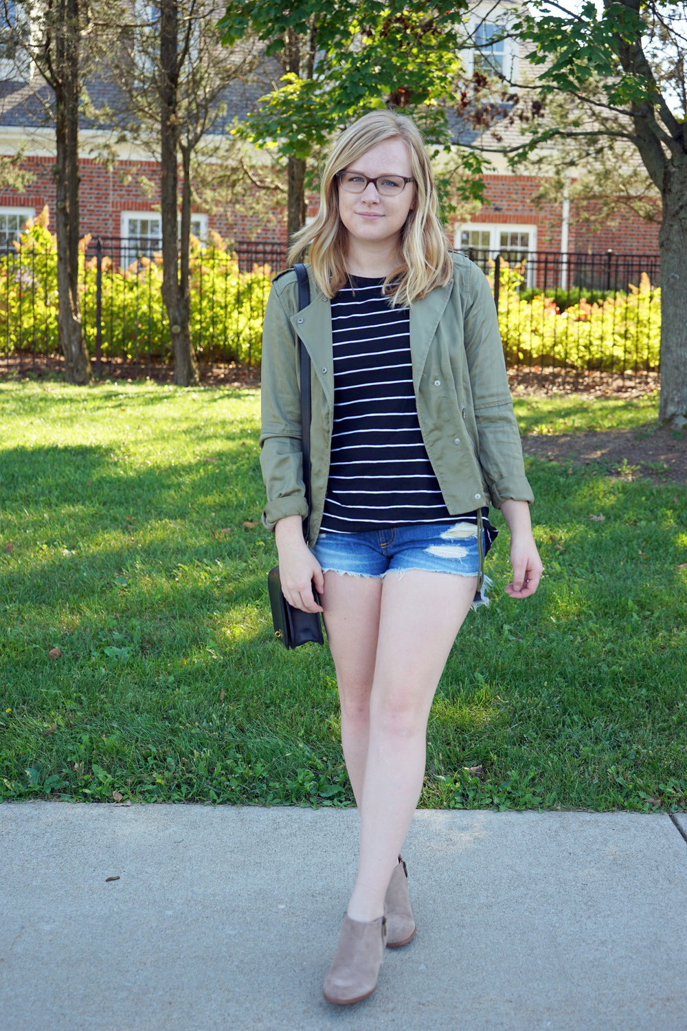 Maggie a la Mode - How to Wear Shorts in Fall 2.JPG