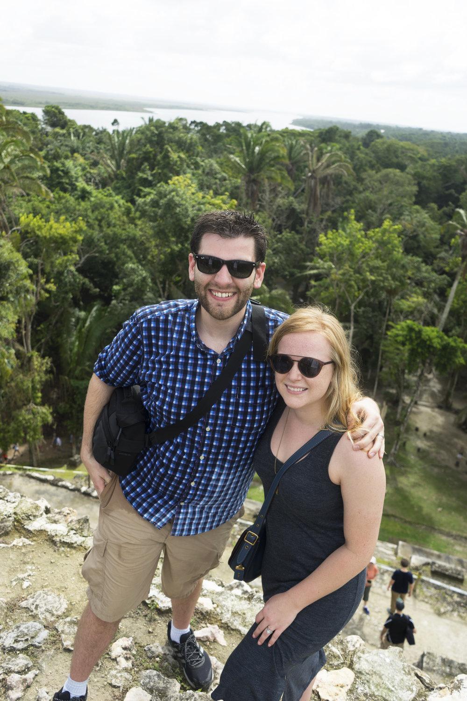 Maggie a la Mode - Mayan Ruins in Belize 3.JPG