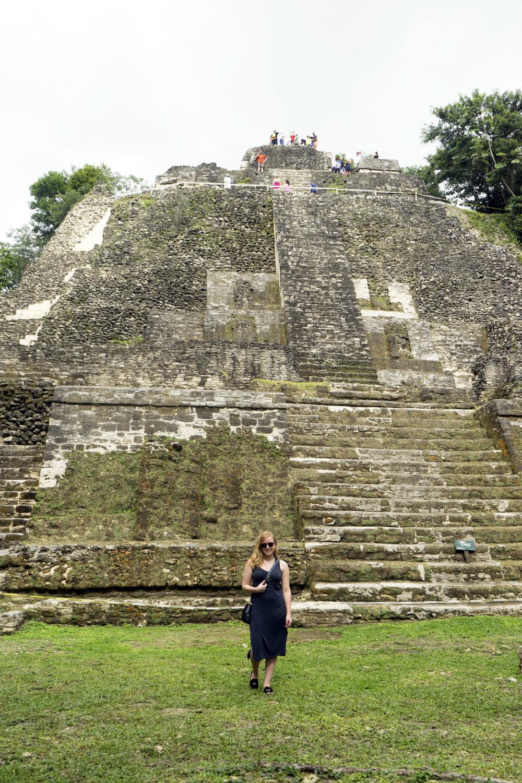 Maggie a la Mode - Mayan Ruins in Belize 2.JPG