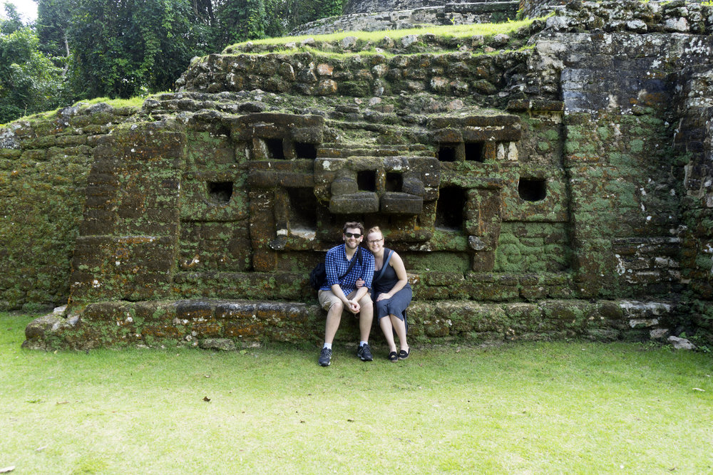 Maggie a la Mode - Mayan Ruins in Belize 4.JPG