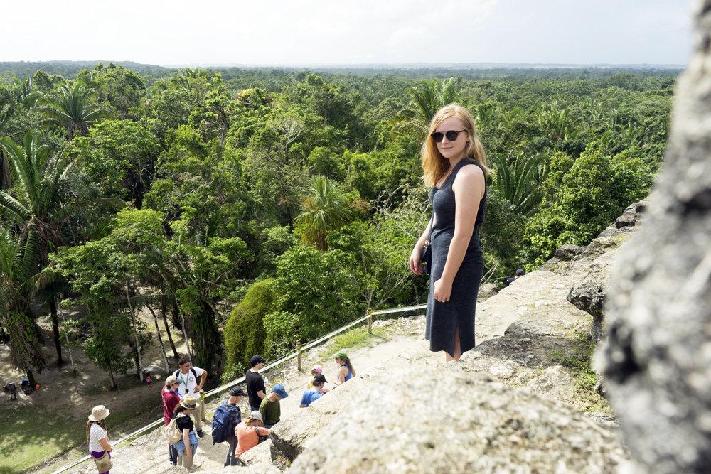 Maggie a la Mode - Mayan Ruins in Belize 5.JPG