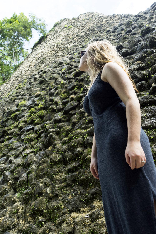 Maggie a la Mode - Mayan Ruins in Belize 6.JPG
