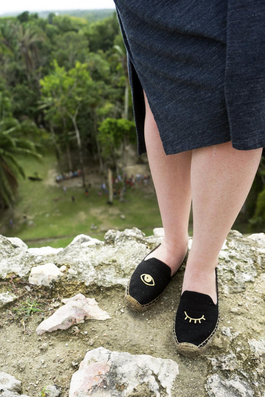 Maggie a la Mode - Mayan Ruins in Belize 7.JPG