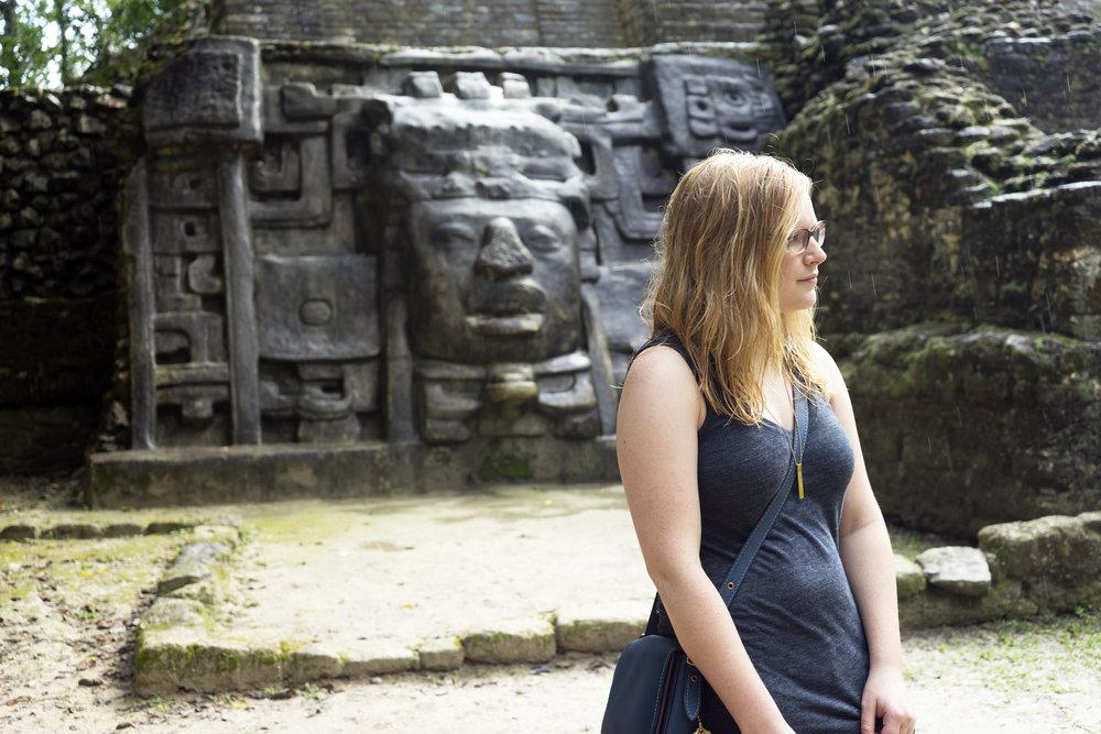 Maggie a la Mode - Mayan Ruins in Belize 11.JPG