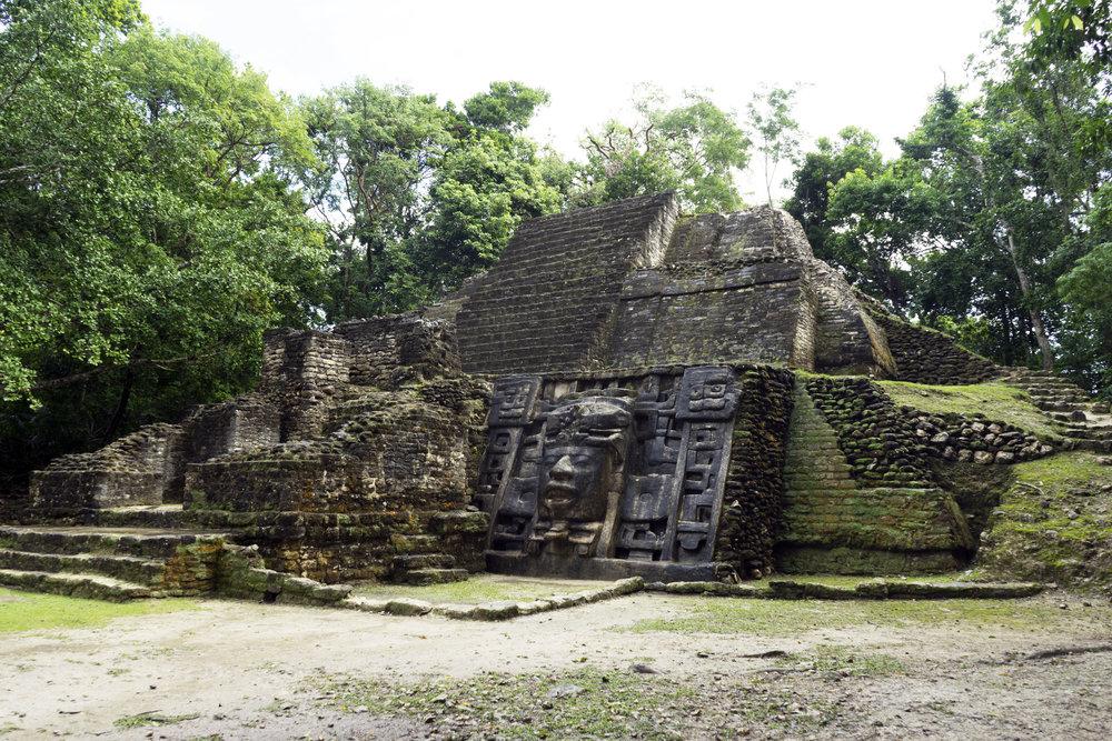 Maggie a la Mode - Mayan Ruins in Belize 12.JPG