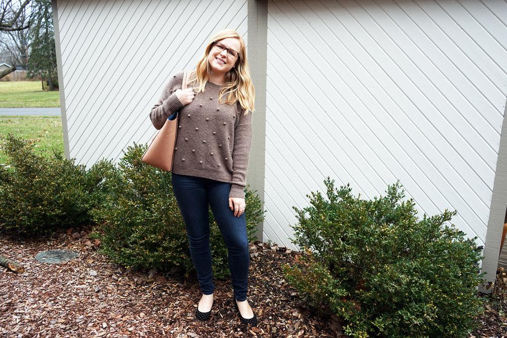 Maggie a la Mode - Madewell Bobble Sweater 4.JPG