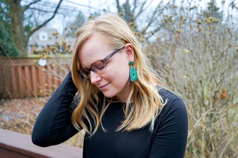 Maggie a la Mode - BaubleBar Moonrock Drops Geode Earrings-2.jpg