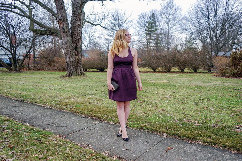 Maggie a la Mode - Club Monaco Raniko Dress Backless and Bows-1.jpg