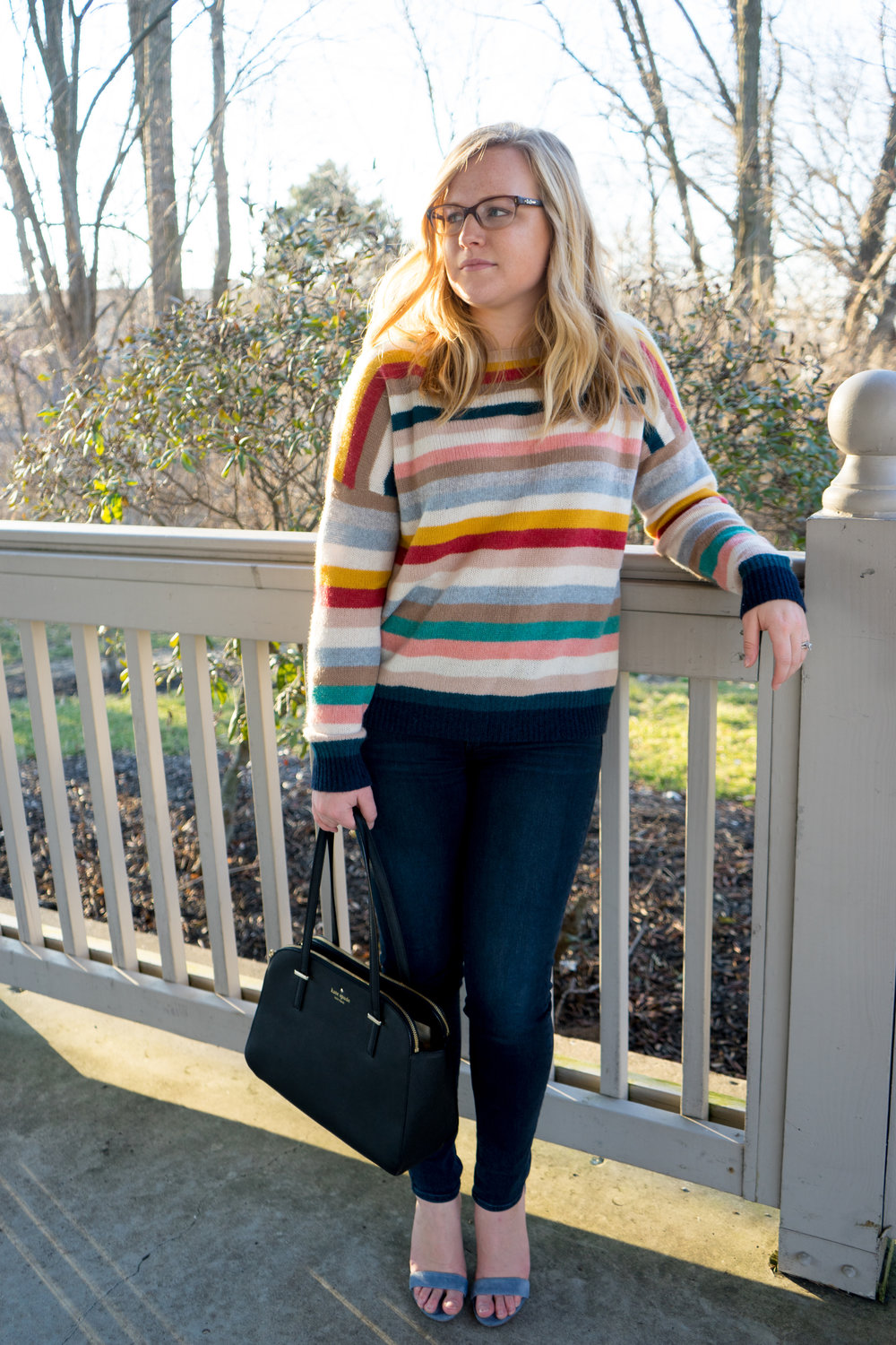 Maggie a la Mode - Naked Cashmere Phillipa Striped Sweater-4.jpg