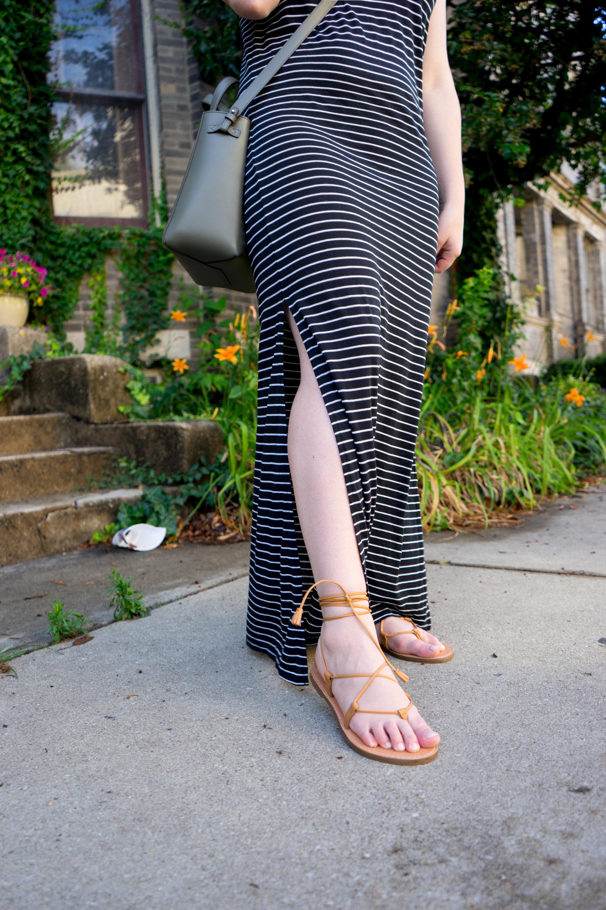 90cc46e3449 Lace-Up Sandals + Weekend Sales — Maggie à la Mode