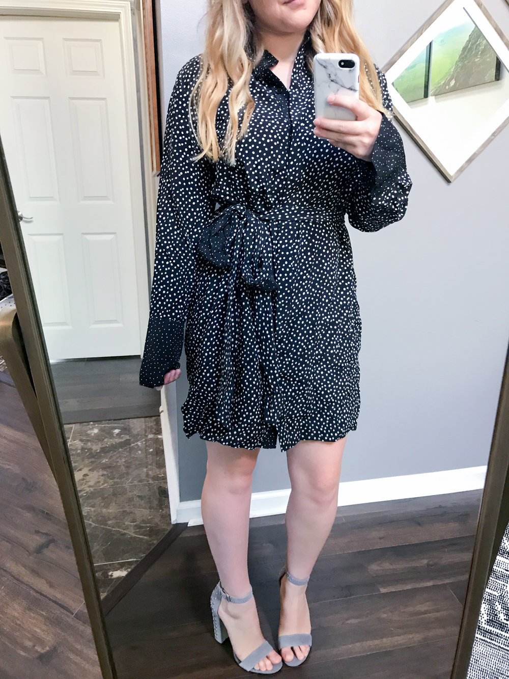 Maggie a la Mode - Diane Von Furstenberg Silk Shirtdress