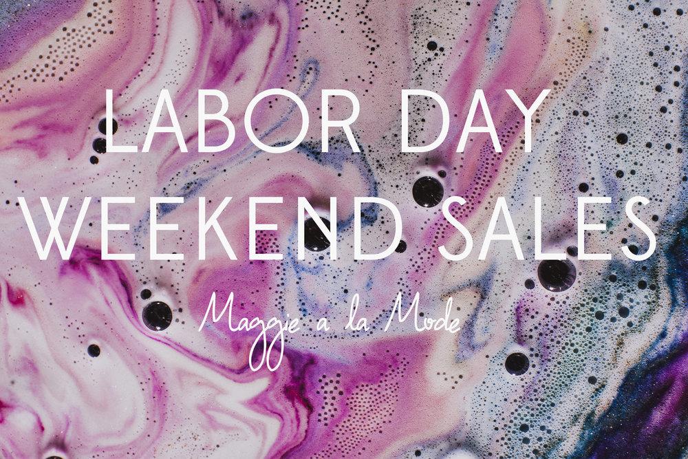 Maggie a la Mode - Labor Day Weekend Sales