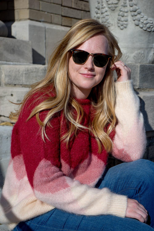 Maggie a la Mode - Sezane Leopold Multi Pink Sweater-5.jpg