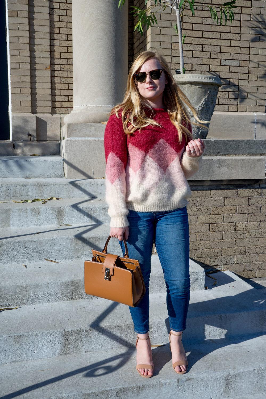 Maggie a la Mode - Sezane Leopold Multi Pink Sweater-6.jpg