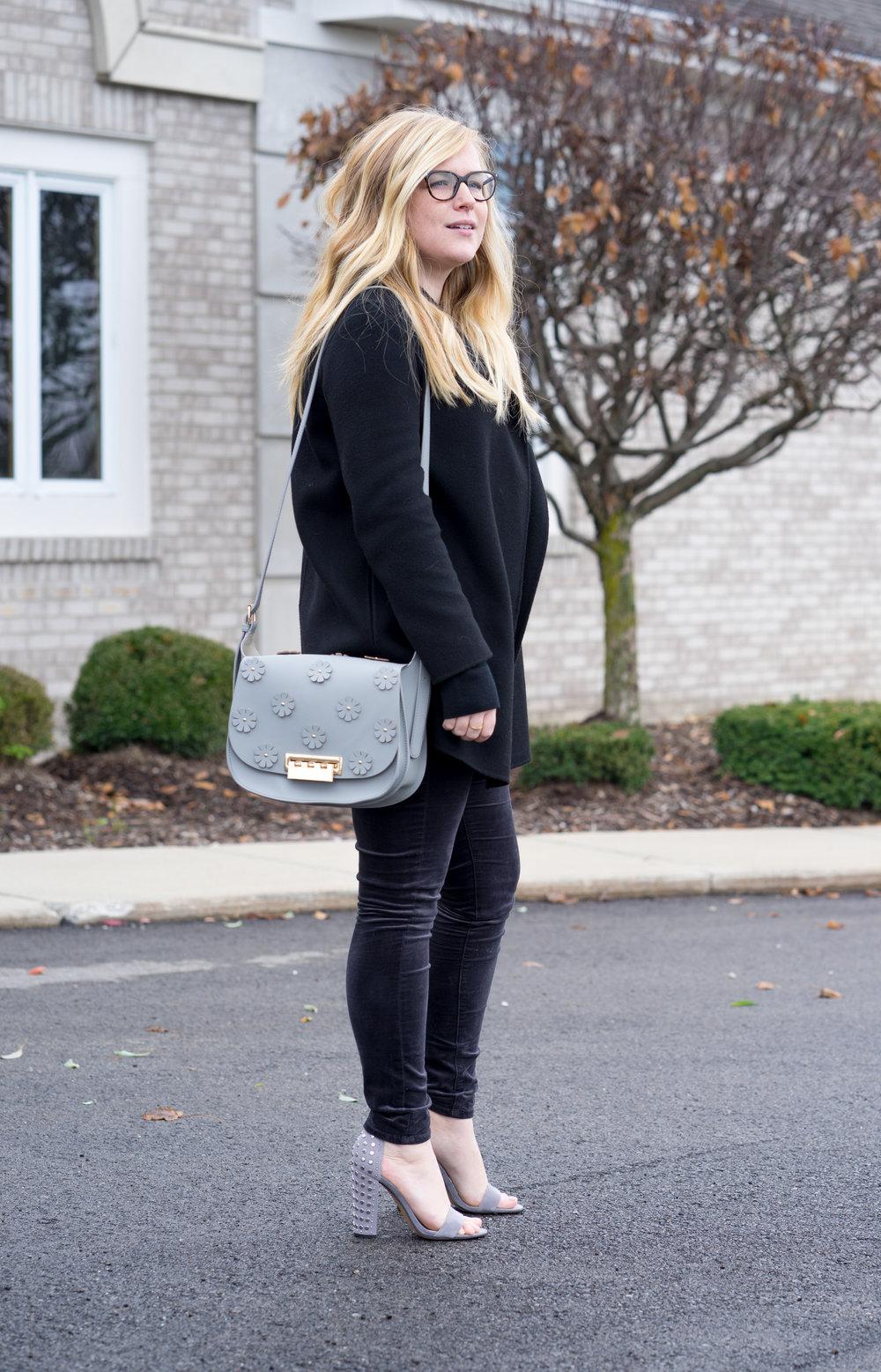 Maggie a la Mode - AG Farrah Velvet Skinny Jeans Theory Clairene-2.jpg