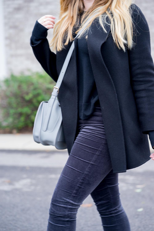 Maggie a la Mode - AG Farrah Velvet Skinny Jeans Theory Clairene-10.jpg