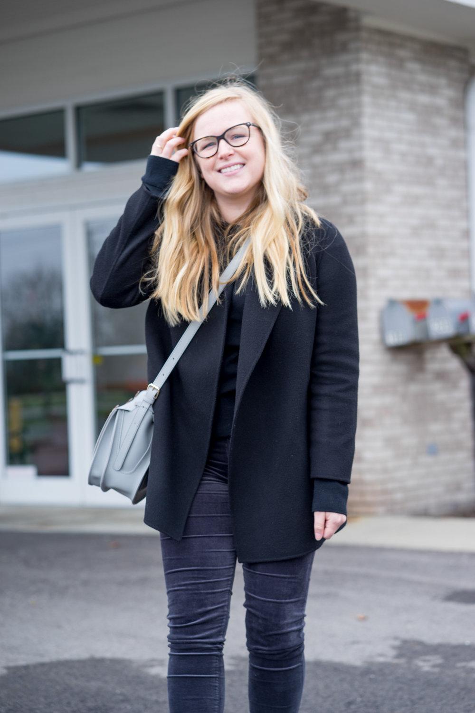 Maggie a la Mode - AG Farrah Velvet Skinny Jeans Theory Clairene-11.jpg