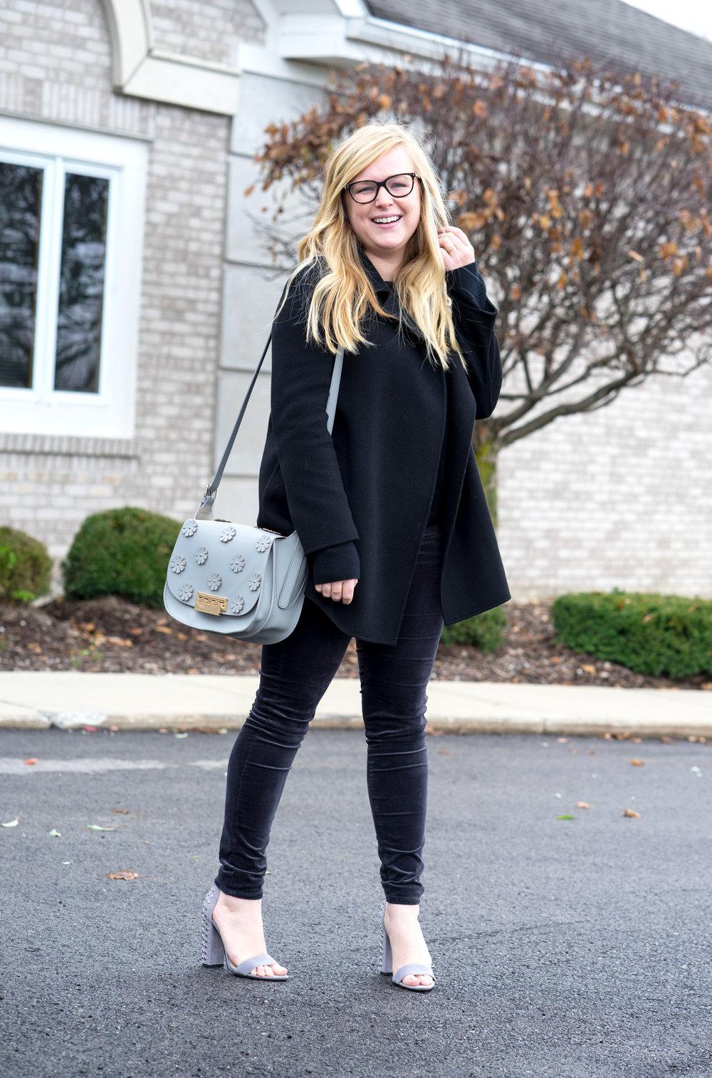 Maggie a la Mode - AG Farrah Velvet Skinny Jeans Theory Clairene-3.jpg