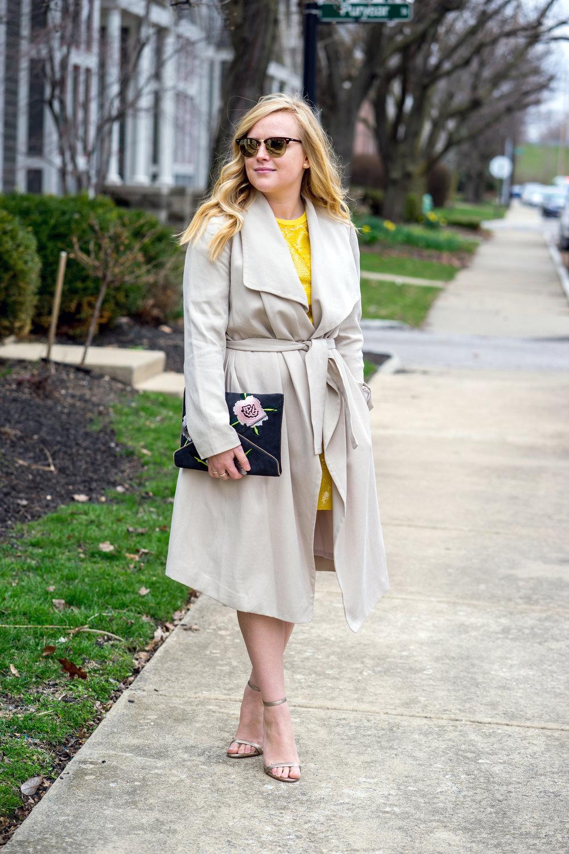 Maggie a la Mode - Be Bold Zara Yellow Sequin T Shirt Dress-3.jpg