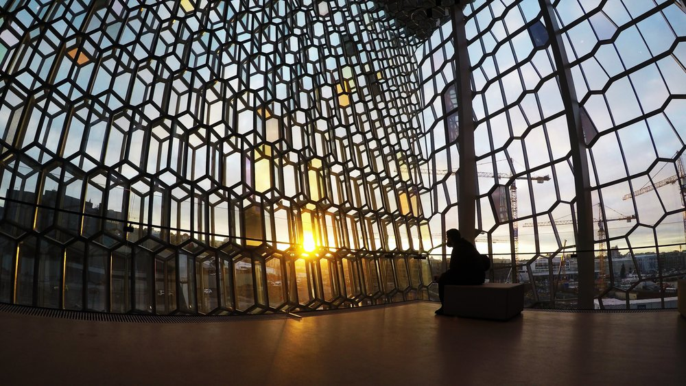 Maggie a la Mode - Why You Should Visit Iceland in Winter Harpa Concert Hall