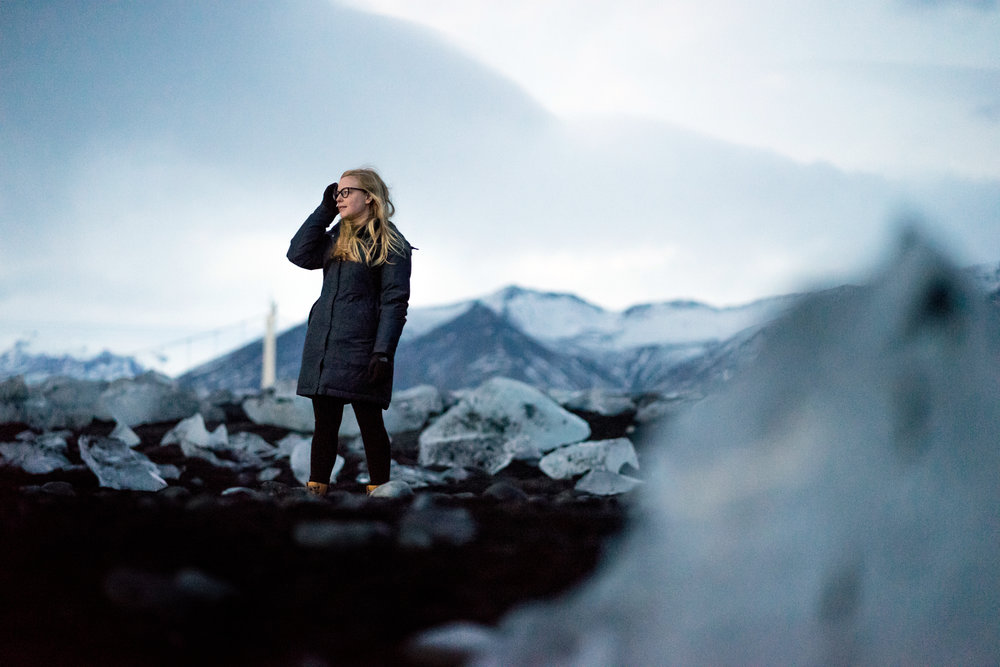 Maggie a la Mode - Why You Need to Visit Iceland in Winter Diamond Beach.jpg