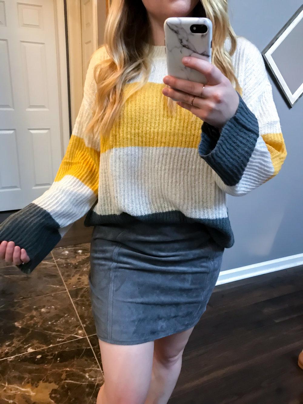 d89052ee7b9 Maggie a la Mode Nordstrom Anniversary Sale 2018 BP. Stripe Pullover Sweater