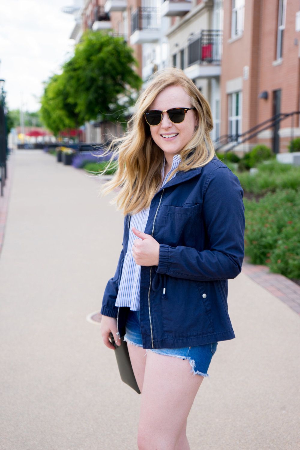Maggie a la Mode - Most Popular Items 2018 Old Navy Twill Field Jacket