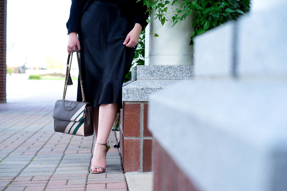 Maggie a la Mode - Most Popular Items 2018 Nordstrom Vince Satin Skirt