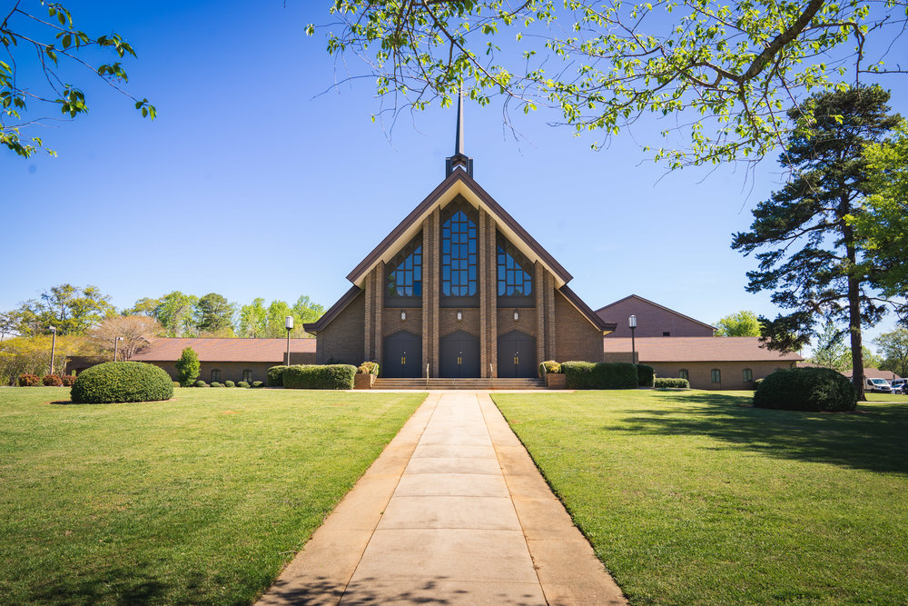 Greenville Wedding | Morningside Baptist Church Spartanburg SC