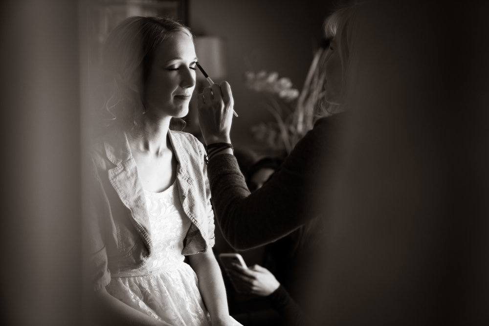 Greenville Wedding | Morningside Baptist Church Spartanburg SC Getting ready