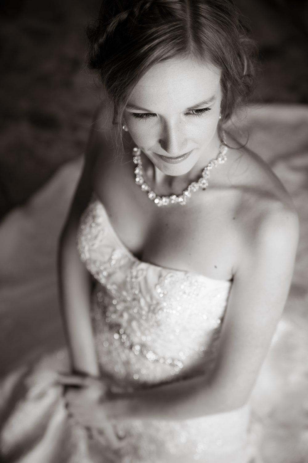 Greenville Wedding | Morningside Baptist Church Spartanburg SC Bride portrait