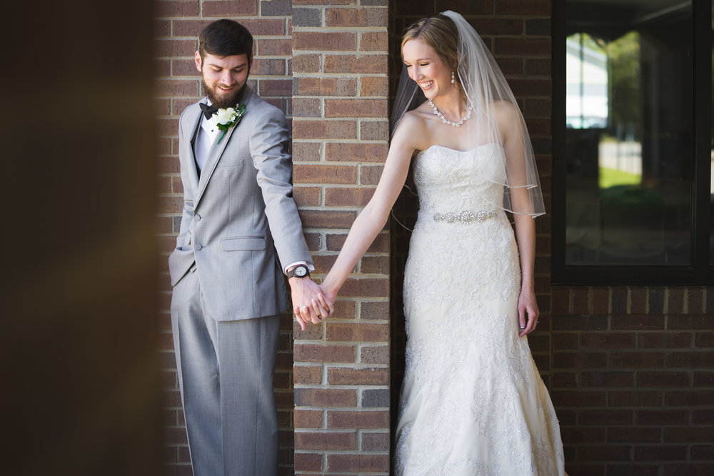 Greenville Wedding | Morningside Baptist Church Spartanburg SC First look