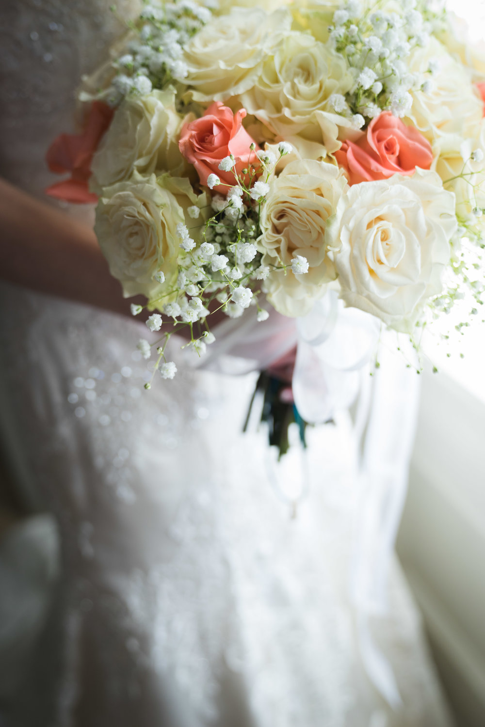 Greenville Wedding | Morningside Baptist Church Spartanburg SC Brides bouquet