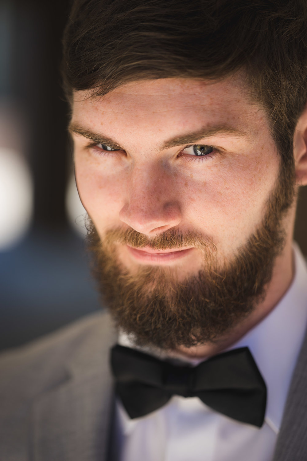 Greenville Wedding | Morningside Baptist Church Spartanburg SC Groom portait