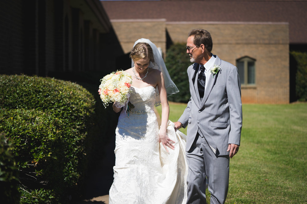 Greenville Wedding | Morningside Baptist Church Spartanburg SC Ceremony