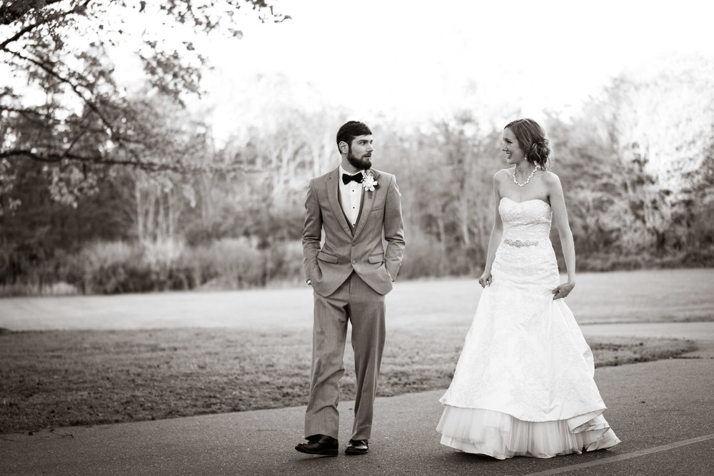 Greenville Wedding | Morningside Baptist Church Spartanburg SC Bride and Groom