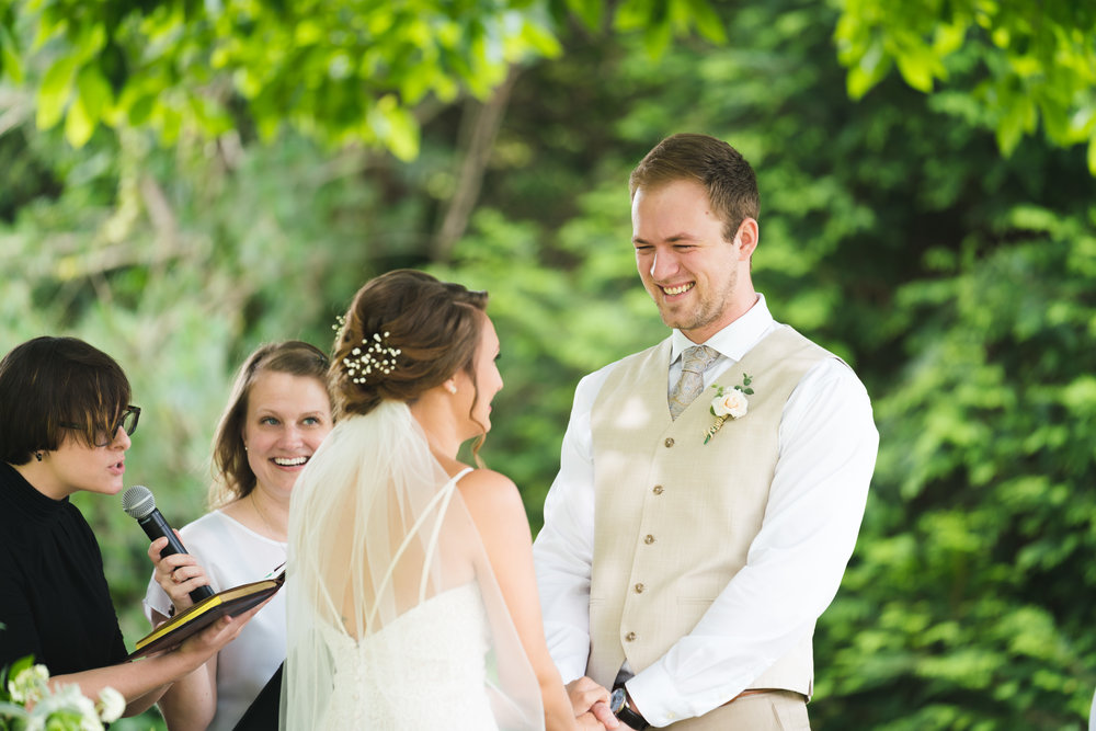 The groom getting married - Viewpoint at Buckhorn Creek | Greenville, SC