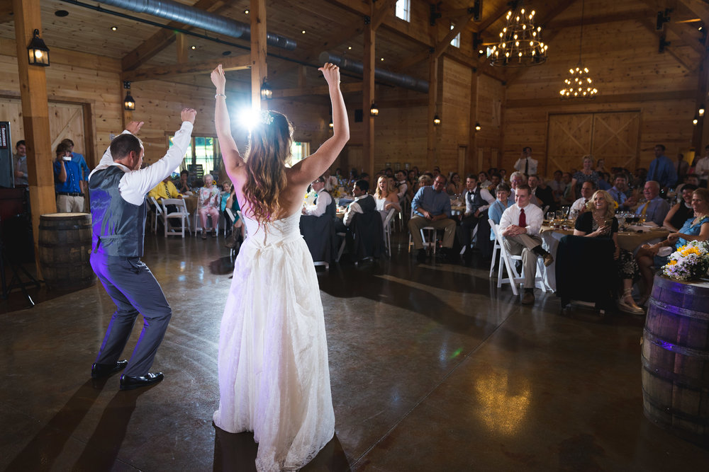Choreographed father daughter dance | Windy Hill Wedding and Event Barn in Simpsonville, SC