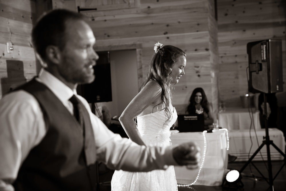 Father daughter dancing black and white | Windy Hill Wedding and Event Barn in Simpsonville, SC