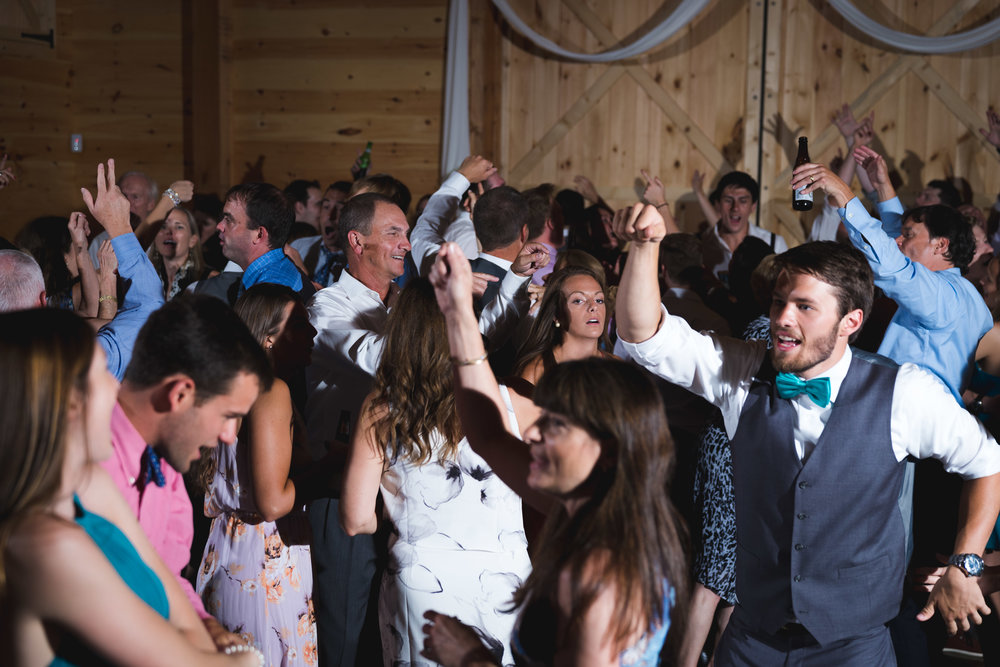 Crazy dancing | Windy Hill Wedding and Event Barn in Simpsonville, SC
