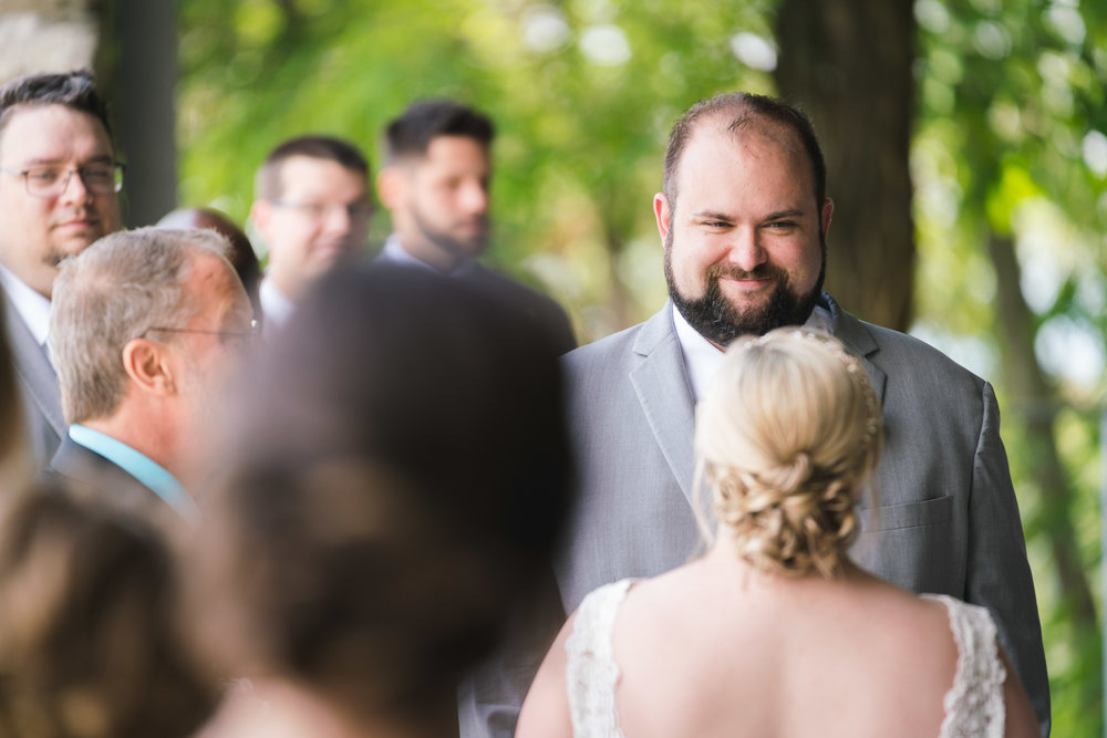 The groom smiling | Pretty Place, SC