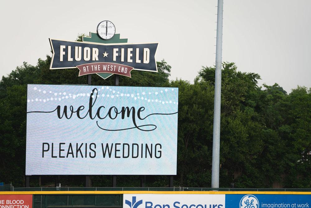 Wedding at Flour Field | Downtown Greenville, SC