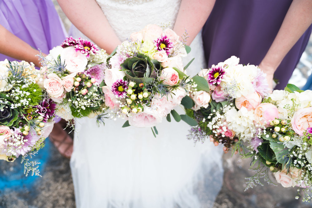 Bridal party bouquets | Bald Rock, SC
