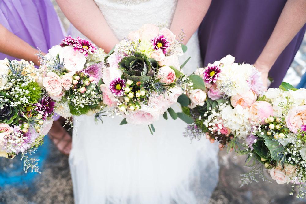 Bridal party bouquets | Bald Rock, SC
