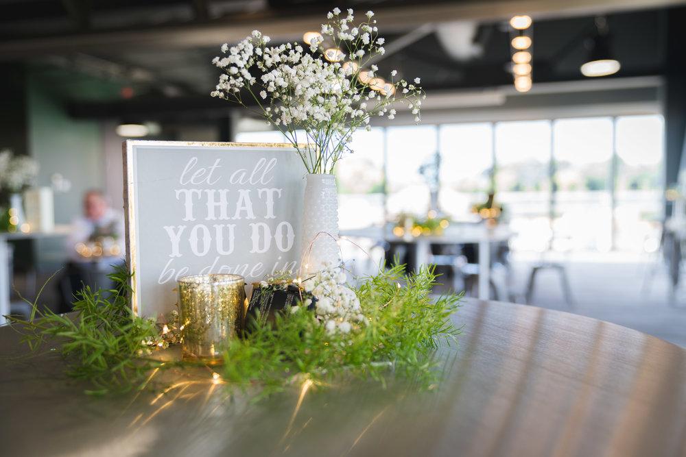 Wedding details | Flour Field Wedding in Downtown Greenville, SC