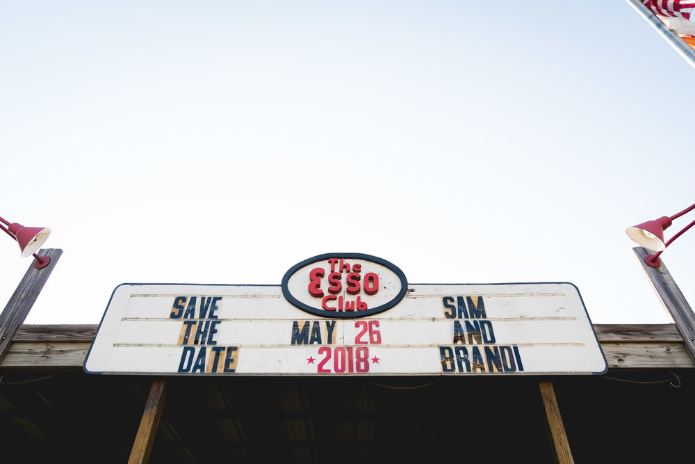 The Esso Club | Engagement Session in Clemson SC