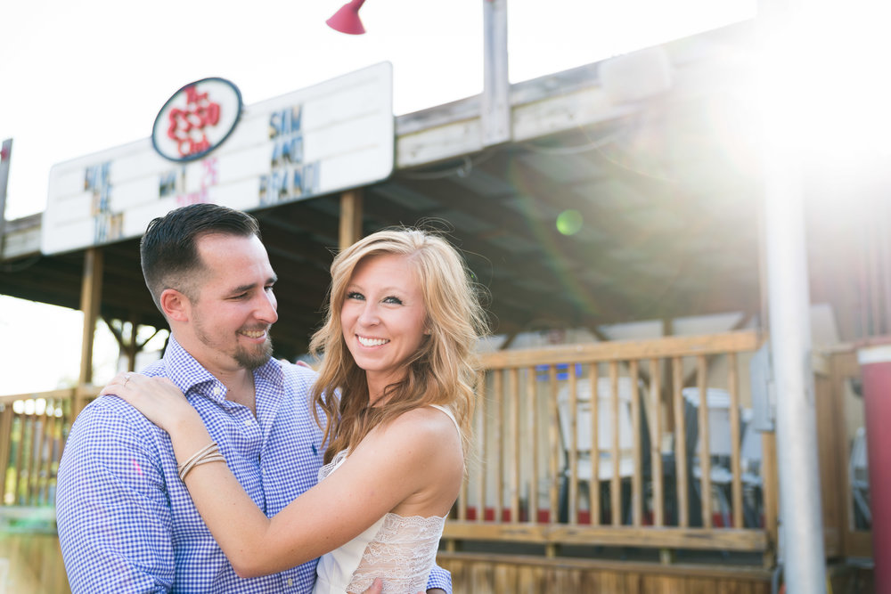 We're getting married | Engagement Session in Clemson SC