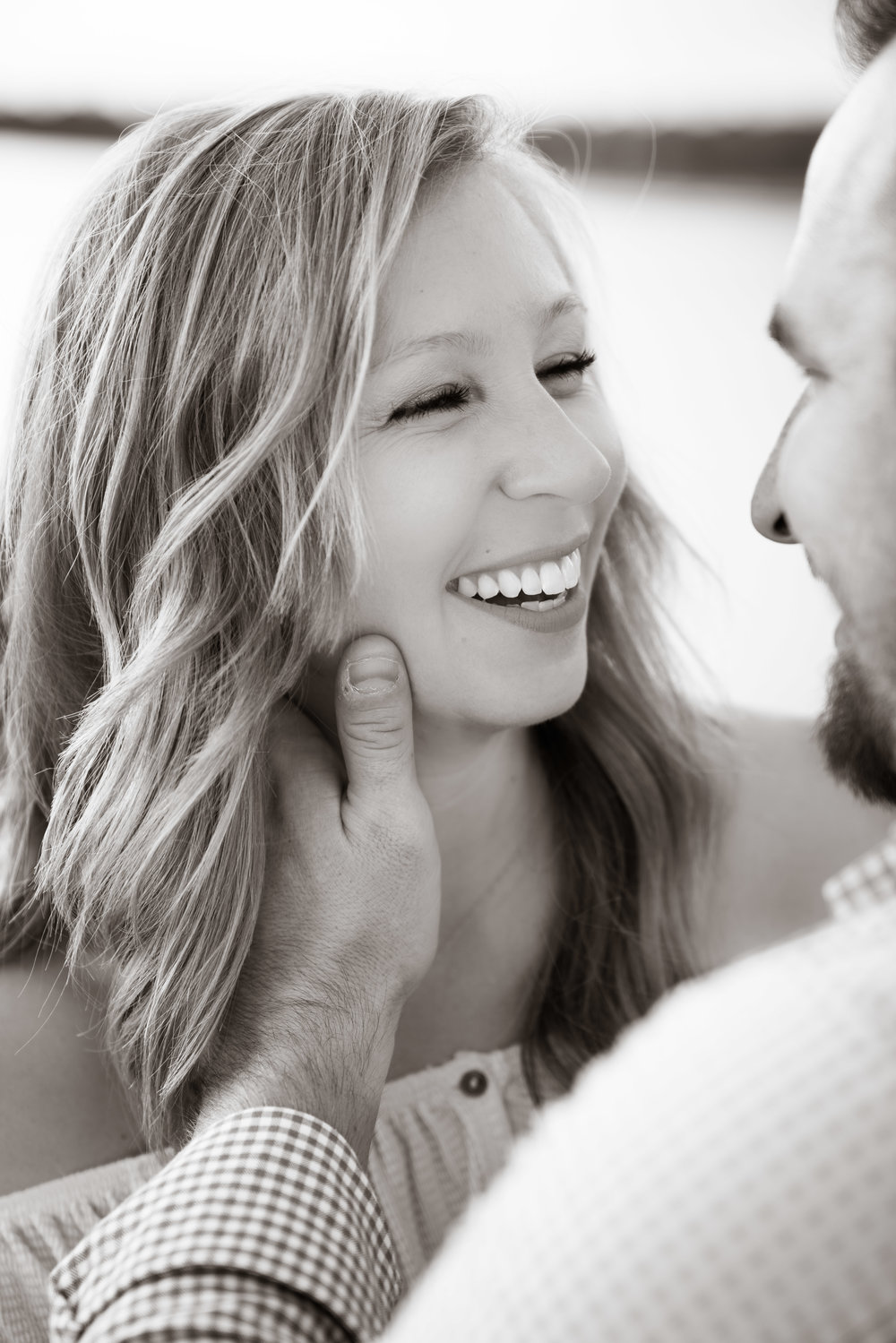 Couple on Lake Hartwell | Engagement Session in Clemson SC